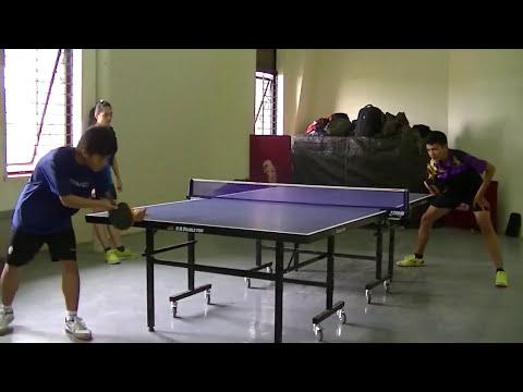 Sparing Tenis Meja Mahasiswa Universitas Indonesia