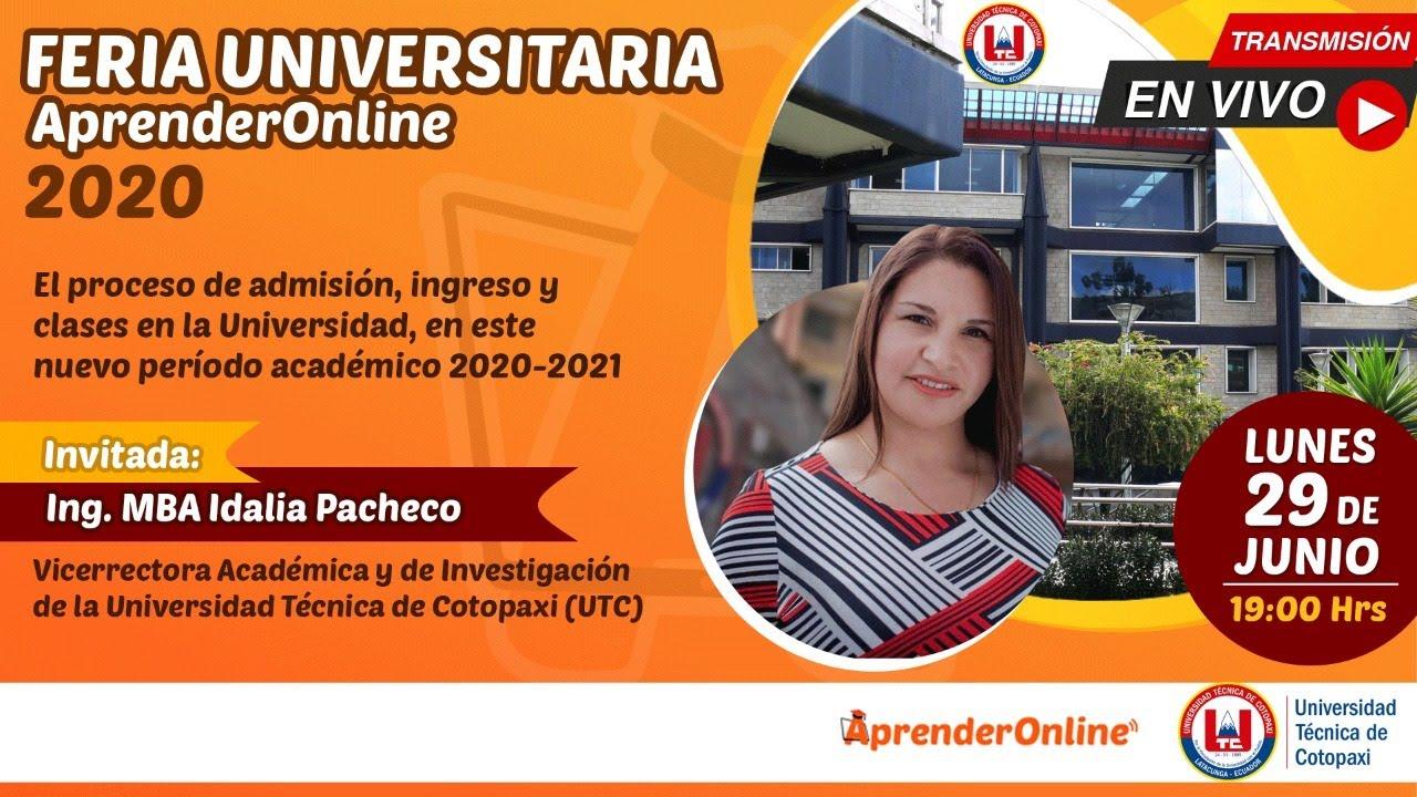 Feria Universitaria  | AprenderOnline 2020 | UTC