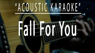 Fall for you - Acoustic karaoke (Secondhand Serenade)