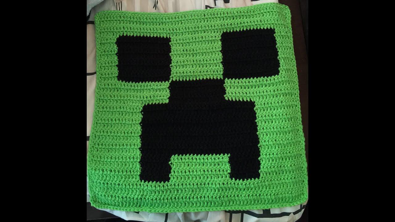 Minecraft crochet pillow top youtube minecraft crochet pillow top bankloansurffo Choice Image