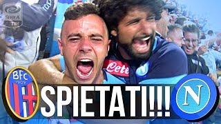 BOLOGNA 0-3 NAPOLI | SPIETATI!!! LIVE REACTION NAPOLETANI SETTORE OSPITI HD