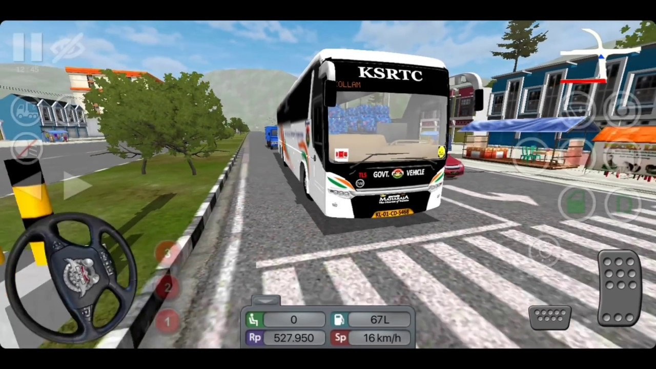 Ksrtc Bus Mod For Bus Simulator Indonesia Youtube