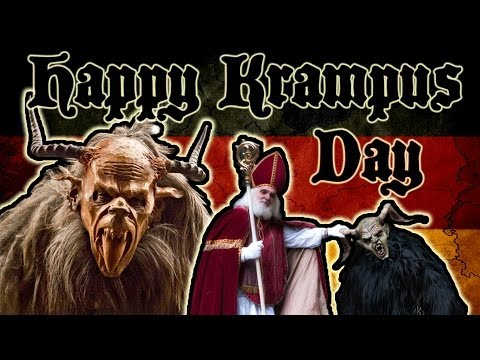 The Krampus - An Ancient German Christmas Legend | Get Germanized | + BLOOPERS