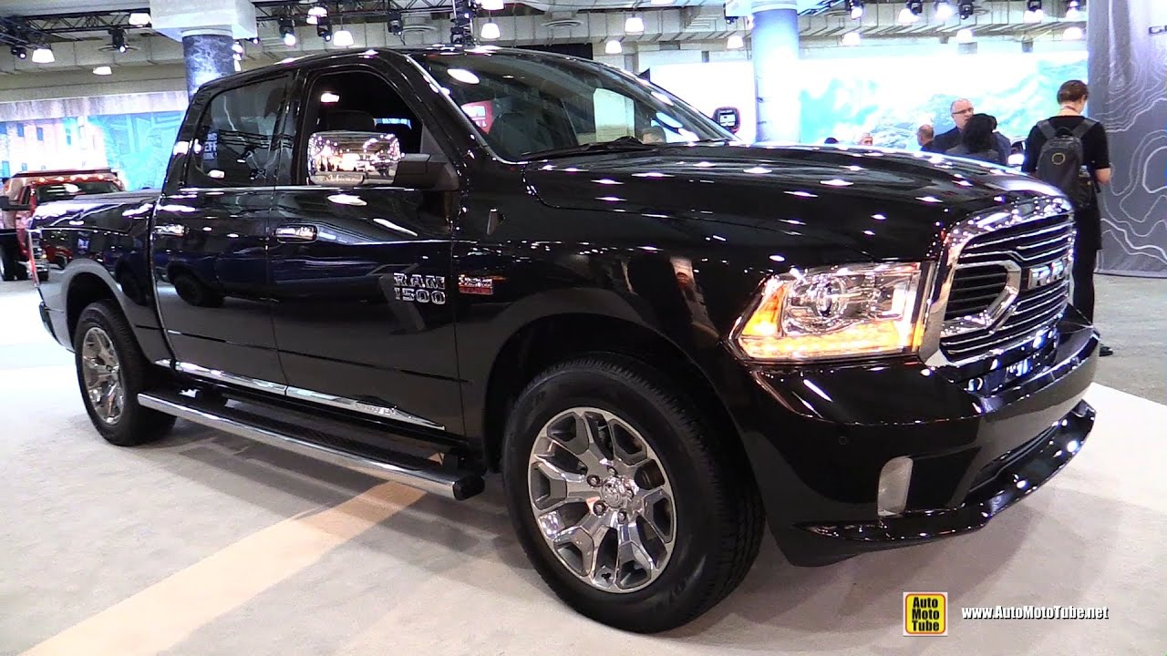 2017 Dodge Ram >> 2017 Ram 1500 Limited Exterior And Interior Walkaround 2017 New York Auto Show