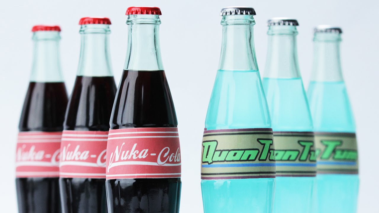 graphic relating to Nuka-cola Quantum Printable Label named FALLOUT 4 NUKA COLA feet. Hannah Hart - NERDY NUMMIES