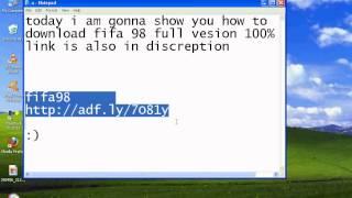 Video how to download fifa 98 full version 100% working download MP3, 3GP, MP4, WEBM, AVI, FLV Oktober 2017