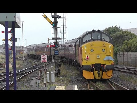 The Farrington Reverser with 37025 'Inverness TMD' and 37219 'Jonty Jarvis' 01/07/17