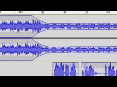 Basic audio editing in the Audacity free editor