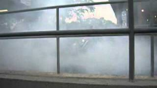 awesome motorcycle burnout at hb spokes myrtle beach sc