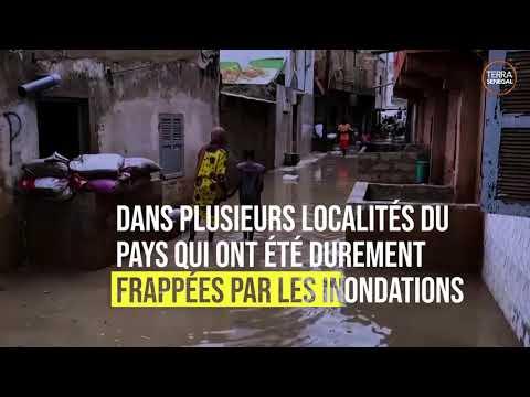 Au Sénégal, il a plu l'equivalent de 3 mois d'averses en 24h