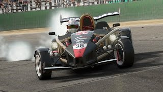 Project cars - sliding some cars - pure in-game engine sounds