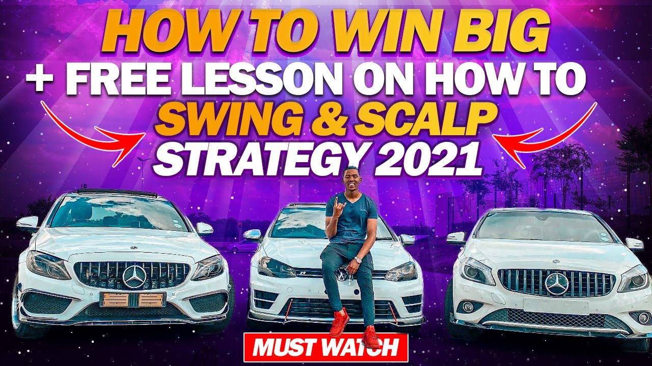 Forex   How to WIN BIG + Free lesson SWING and SCALP STRATEGY 2021