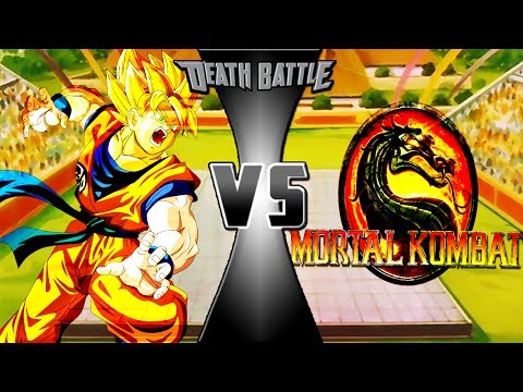 Goku vs Mortal Kombat Power Levels (孫悟空VSモータルコンバット)