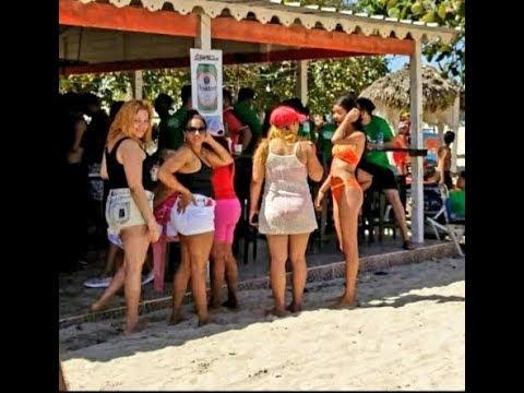 🇩🇴WOW! Girls Fun Girls! Golden Beach Domnican Republic is Really Golden!🇩🇴