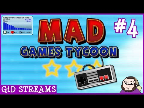 The Vore Train Continues... | GiD Streams Mad Games Tycoon #4