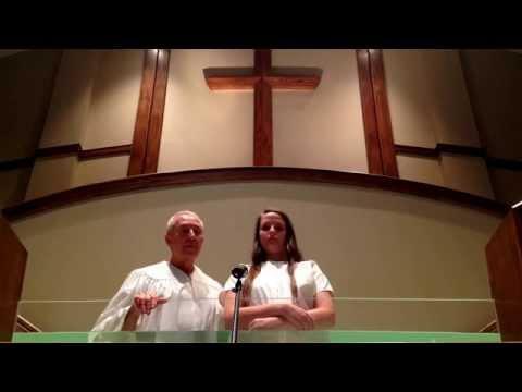 Jennifer Orr Baptism