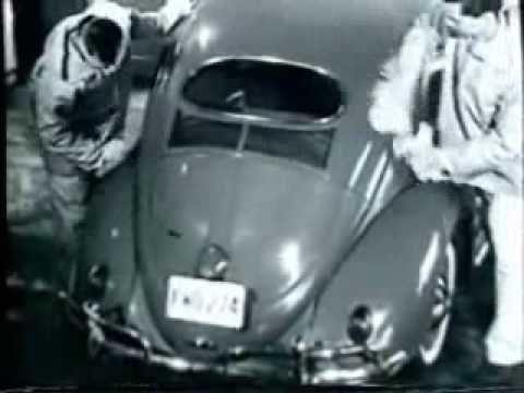 classic vw beetle commercial: 50's cleanstreet