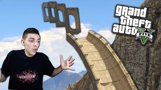 GTA 5 - CHALLENGE CON LE SUPER RAMPE! - GTA V FUNNY MOMENTS | xDegsta