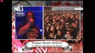 Cannibal Corpse - Addicted to vaginal skin Rock al Parque 2013