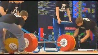 Мужчины 105+ кг Толчок Кубок Президента 2013