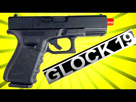 AIRSOFT GLOCK 19 / Elite Force Officially Licensed Glock 19 / Unboxing / Review