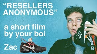 """Reselling Nike Off White Vapourmax """"resellers anonymous"""""""