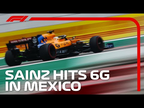 F1 Driver G-Force Analysis: Onboard With Carlos Sainz | AWS | 2019 Mexican Grand Prix