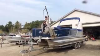Clark Marine - Rob's Vlog - Travis Mills Swim Lift
