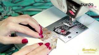 Швейная машинка  Урок 9 косая бейка своими руками