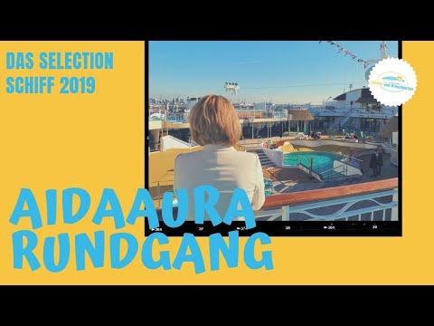 AIDAaura Rundgang 2019 - (AIDA Selection)
