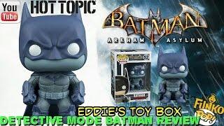 Batman Arkham Asylum: Hot Topic Exclusive Detective Mode Batman Funko Pop! Review!