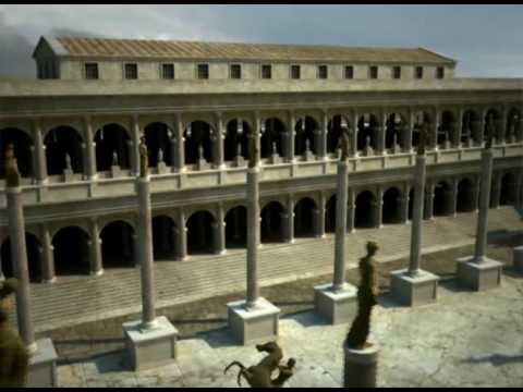 Forum Romanum reconstructed c. by archeolibri s.r.l. - YouTube