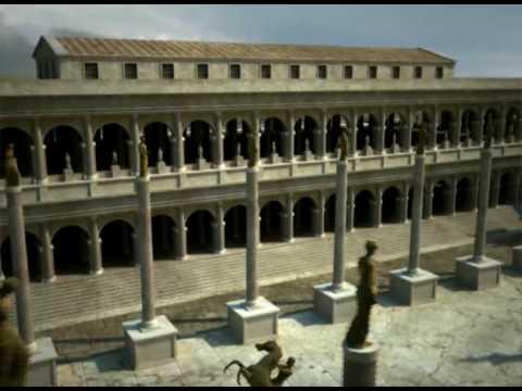 Forum Romanum reconstructed c. by archeolibri s.r.l.