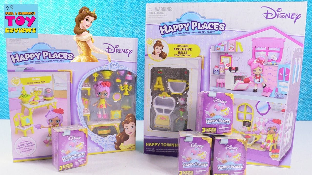 Disney Happy Places Townhouse Belle Dining Blind Bag Toy ...