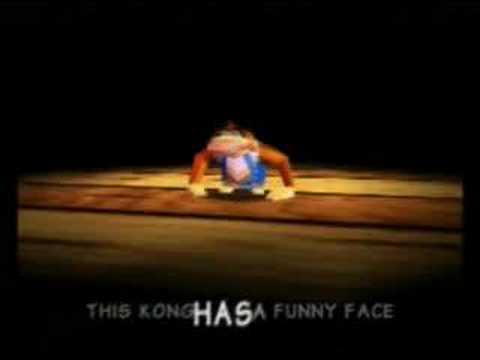donkey kong 64 dk rap youtube