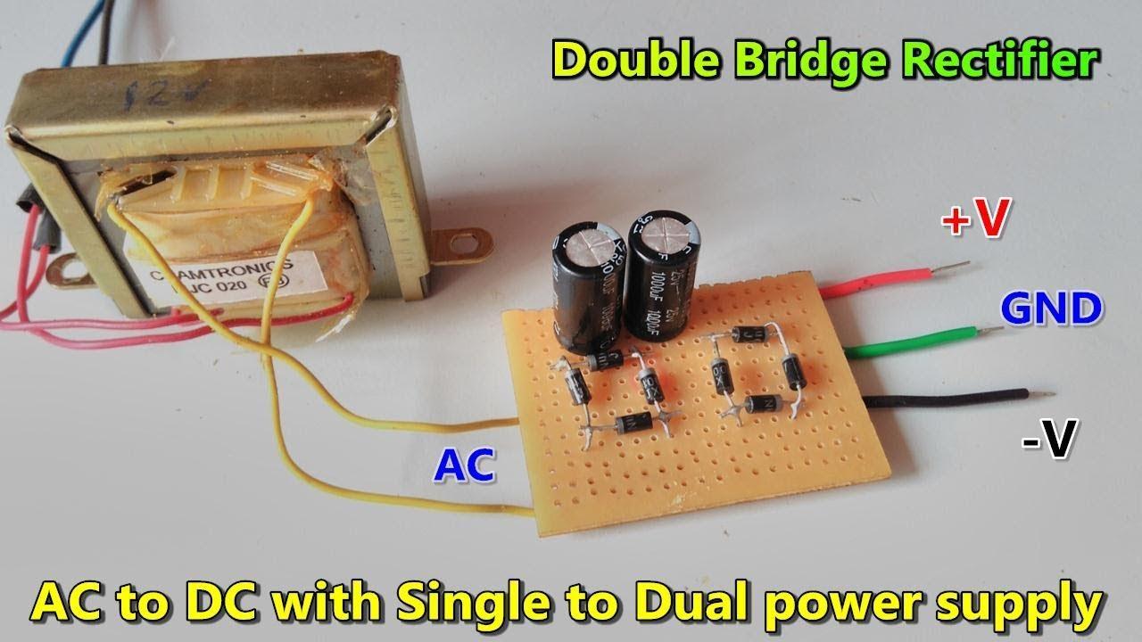 Ac Dc Converters Rectifiers Dual Rectifier