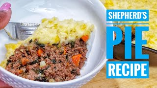 Shepherd&#39s Pie Recipe  Cast Iron Skillet Cheesy Mashed Potato topped Beef Shepherd&#39s pie