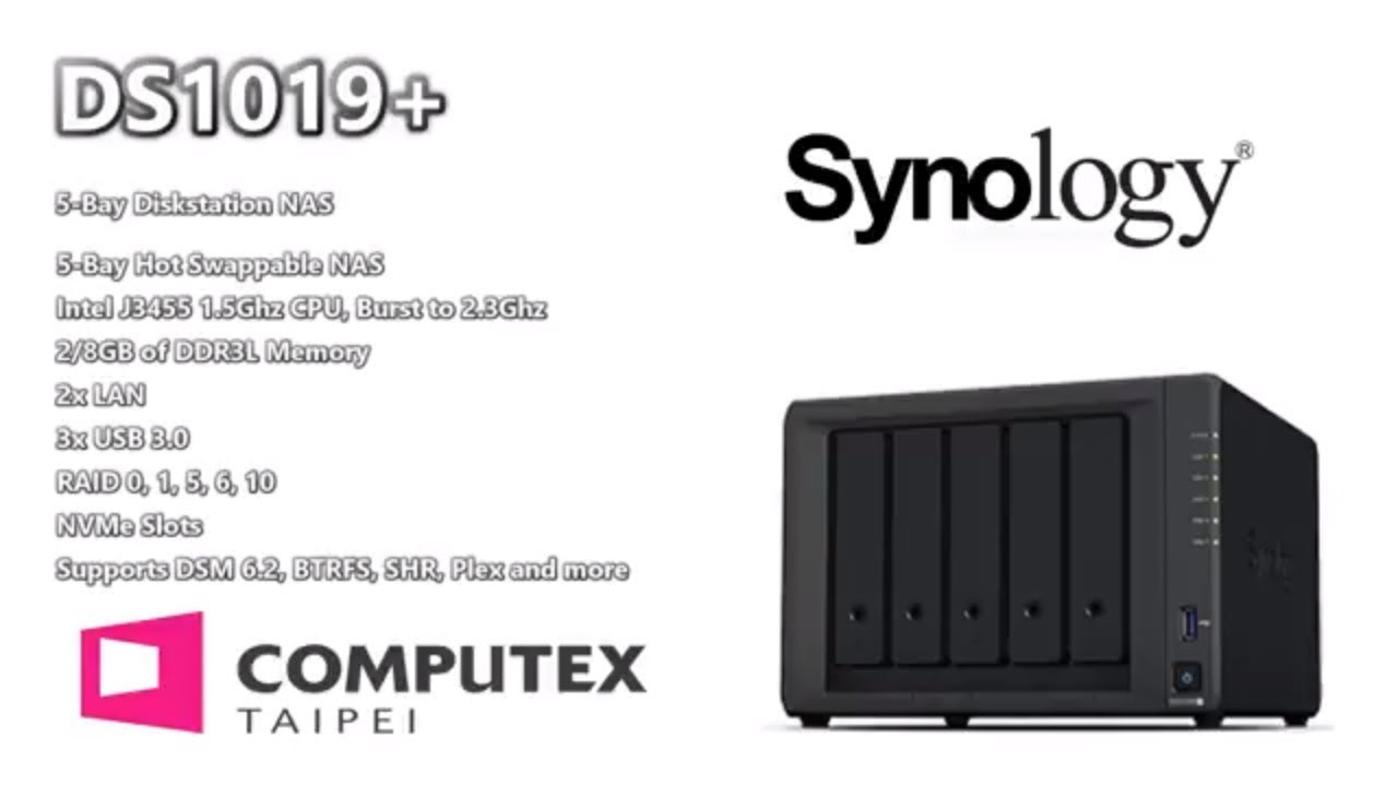 Synology DS1019+ 5-Bay NAS - Update on Hardware