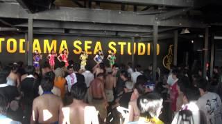 2012/8/20 逗子海岸で行われた『音霊』夏の浜辺の一本勝負!アニソンmee...