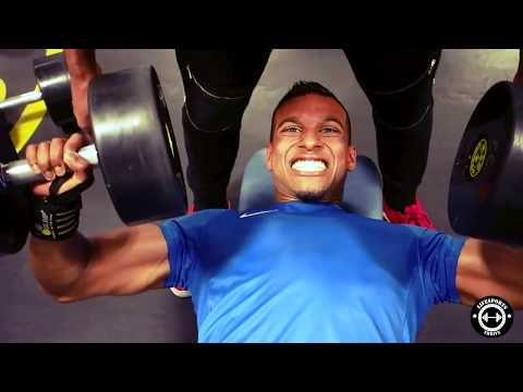 Chestday workout Gold's gym Netherlands