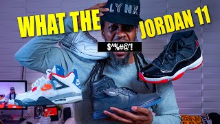 WHAT THE F#%$ JORDAN 11 FEARLESS SCHEMATIC SNEAKER UNBOXING
