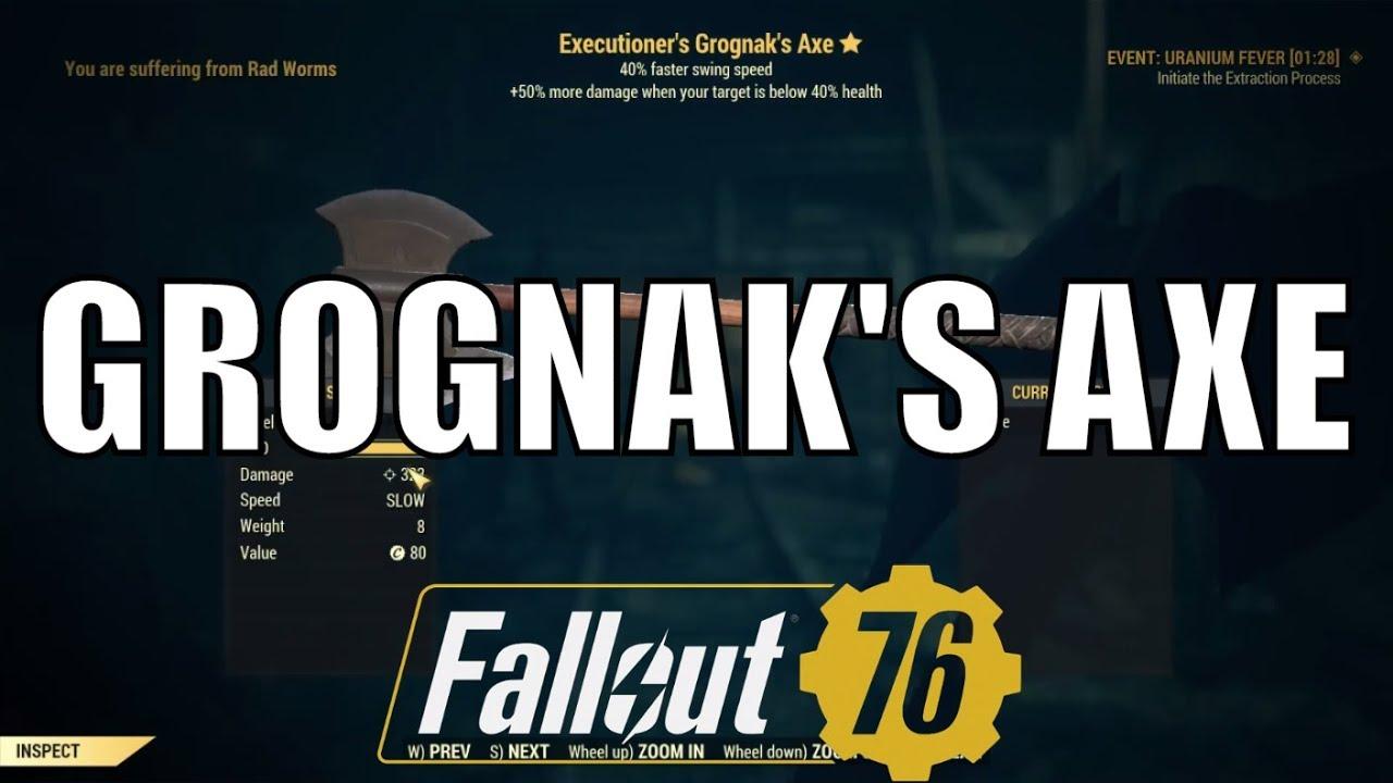 Fallout 76 furious effect reddit
