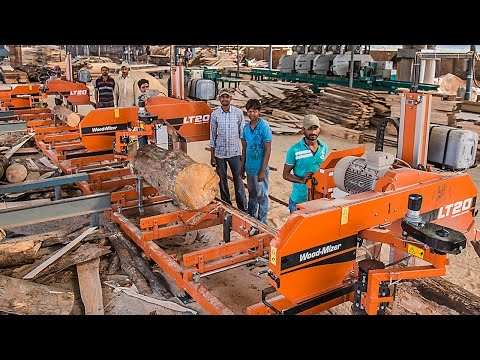 Kolkata timber company expanding with 6 Wood-Mizer sawmills