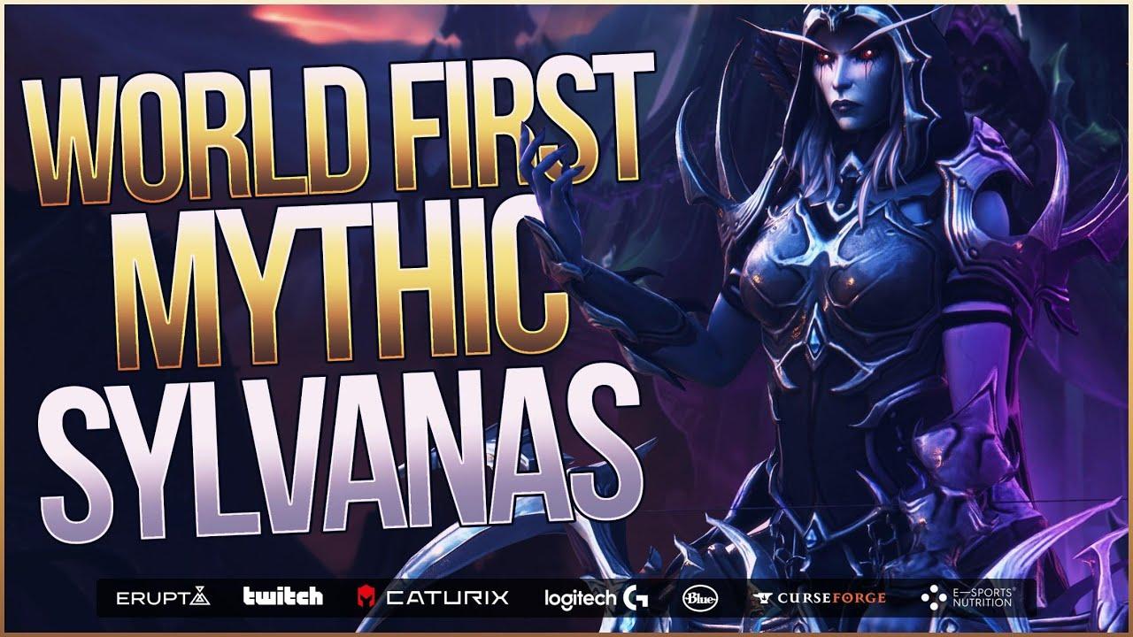 Download Echo x Mythic Sylvanas Windrunner World First! | Sanctum of Domination | WoW: Shadowlands