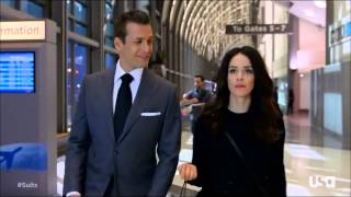 Suits - Harvey / Scottie - I prefer to not travel in style