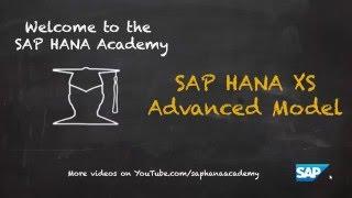 SAP HANA Academy - XS Erweitert: Login - Benutzer Erstellen