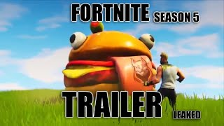 OMGG Fortnite Season 5 Cinematic Trailer Leaked (NOT CLICKBAIT)