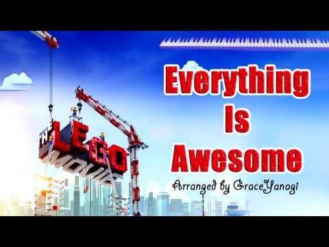 "The Lego Movie - ""Everything Is Awesome"" *Free piano sheet* (Piano Soundtrack Cover)"