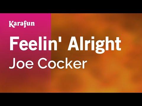 Karaoke Feelin' Alright - Joe Cocker *
