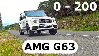 2018 Mercedes- AMG G63, 0- 200 km/h